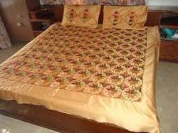 Phulkari Bed Sheets, चादर, बेड शीट in Tripuri Town, Patiala , Phulkari  Corner | ID: 8076413630