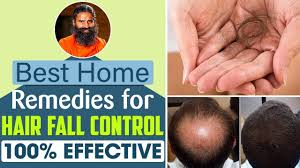 Best Home Remedies for Hair Fall Control – 100% Effective! | Swami Ramdev -  YouTube